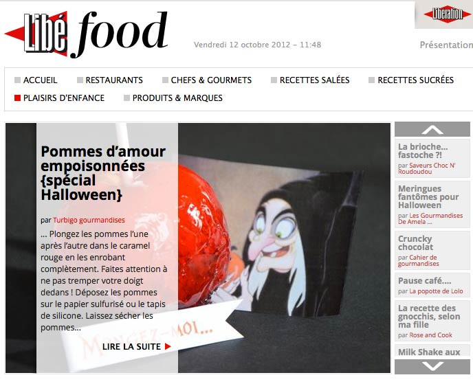 Libé food aime Turbigo Gourmandises