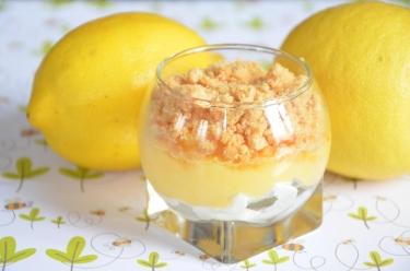Tarte au citron en verrines : plus original que la tarte classique
