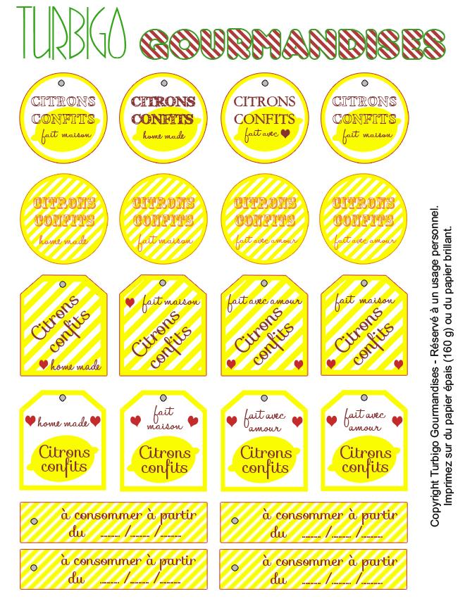 Recette de Citrons Confits pour des Cadeaux gourmands