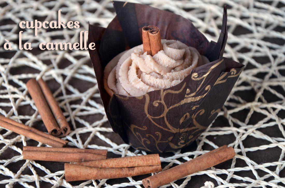recette de Cupcakes à la cannelle