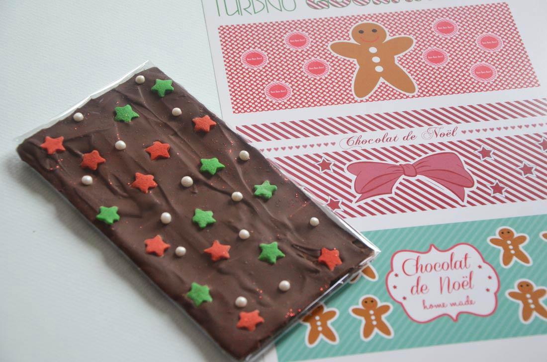 Cadeaux gourmands tablette de chocolat customis tiquettes - Emballage tablette chocolat a imprimer gratuit ...