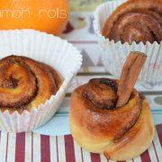 cinnamon rolls : une recette de brioches à la cannelle