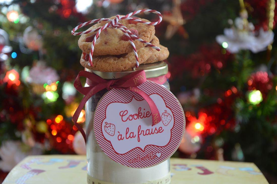 recette de cookies en kit