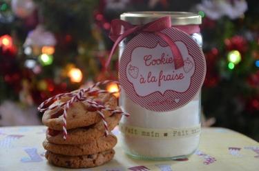 recette de cookies en kit pour des cadeaux gourmands à offrir