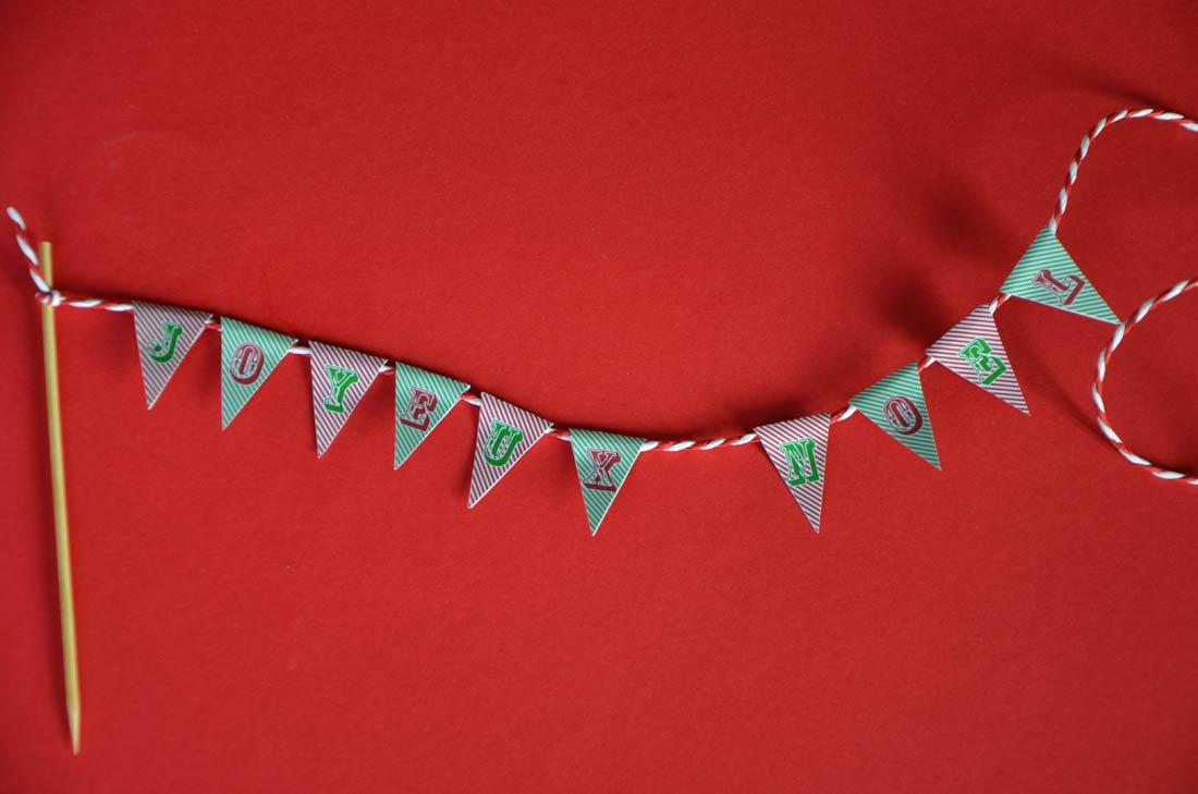 cupcakes au chocolat et à la cannelle parfaits pour Noël avec des freebies gratuits