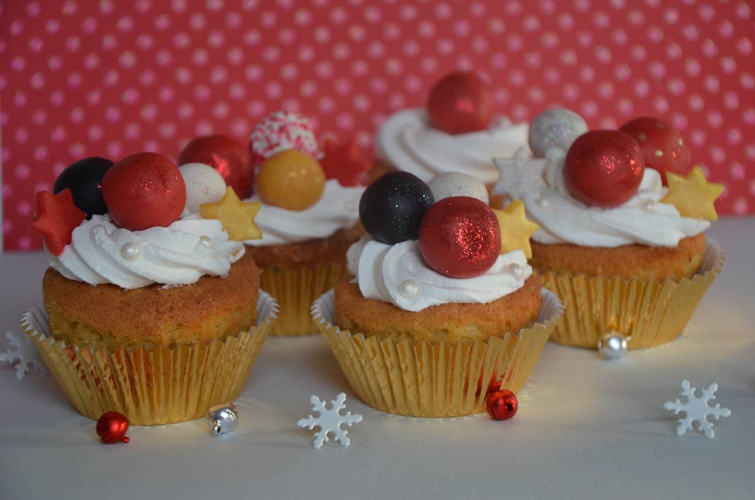 cupcakes de Noël parfaits