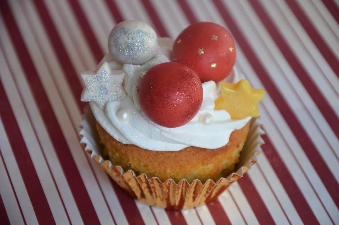 cupcakes de Noël parfaits pour terminer un repas de fêtes