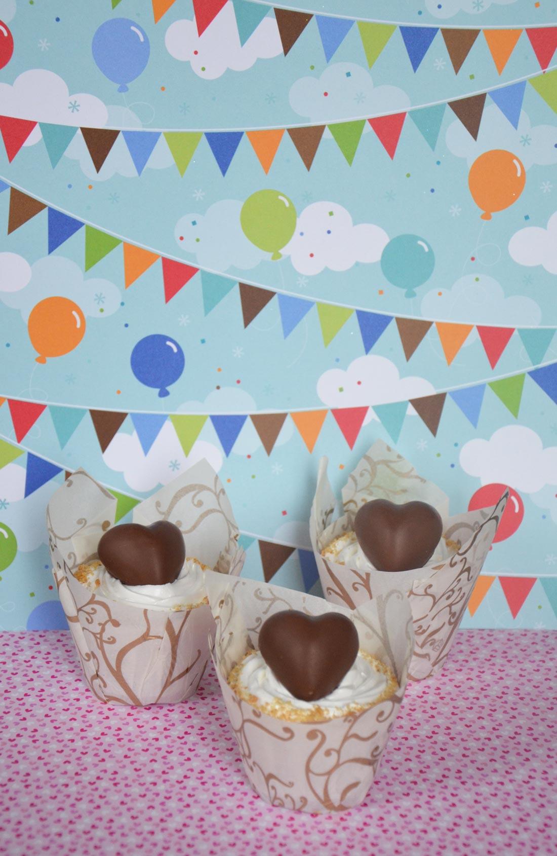 recette de cupcakes S'mores réalisée pour le Téléthon 2012