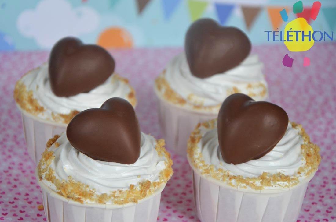 recette de cupcakes Smores chocolat guimauve