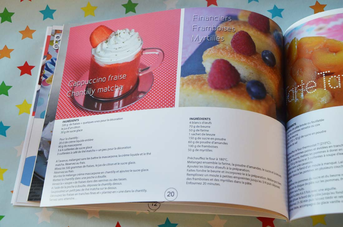 cadeau : le livre de recettes de Turbigo Gourmandises publié chez Photocité