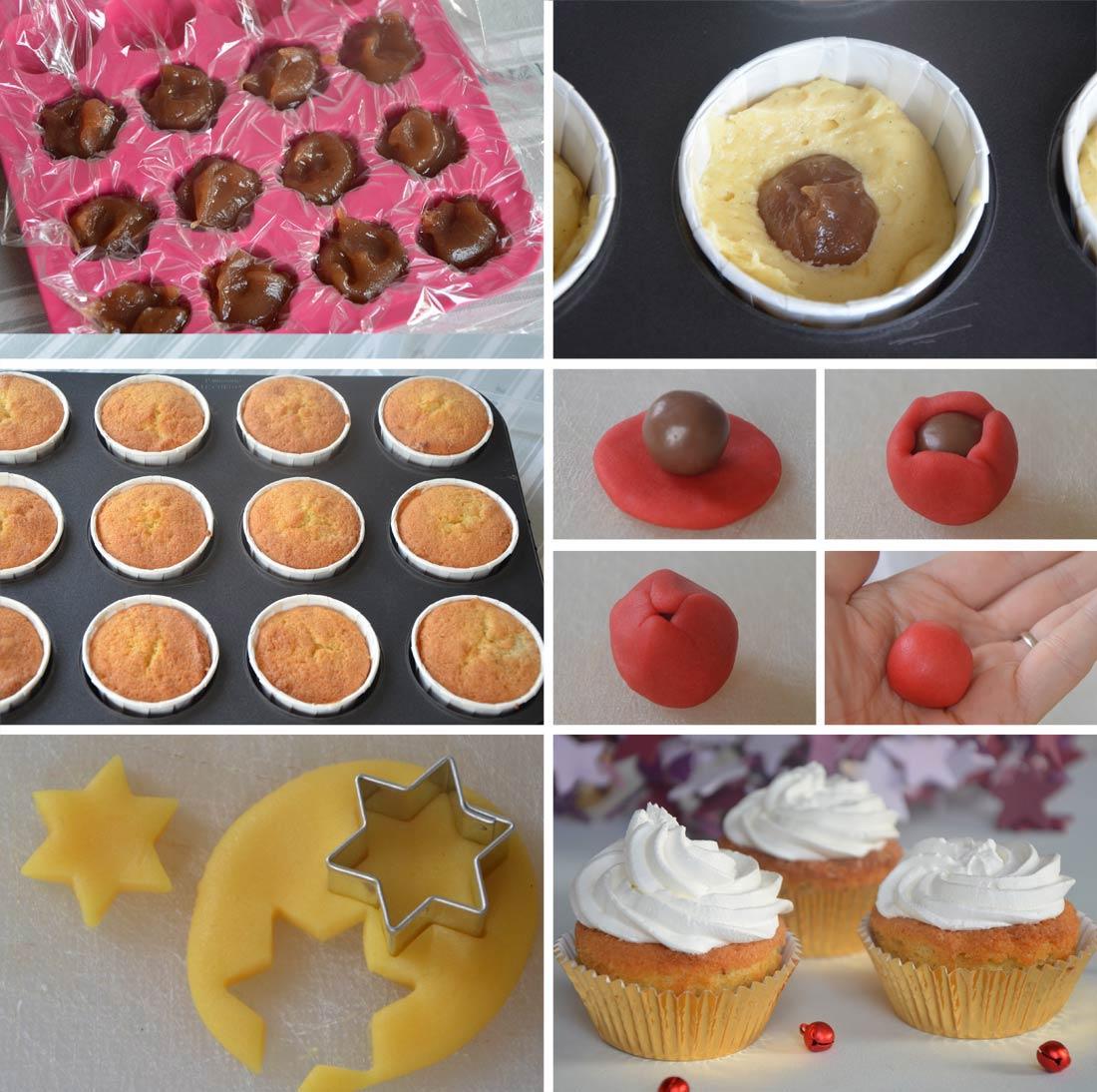 pas à pas cupcakes crème de marron