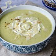 Recette de soupe brocolis amandes