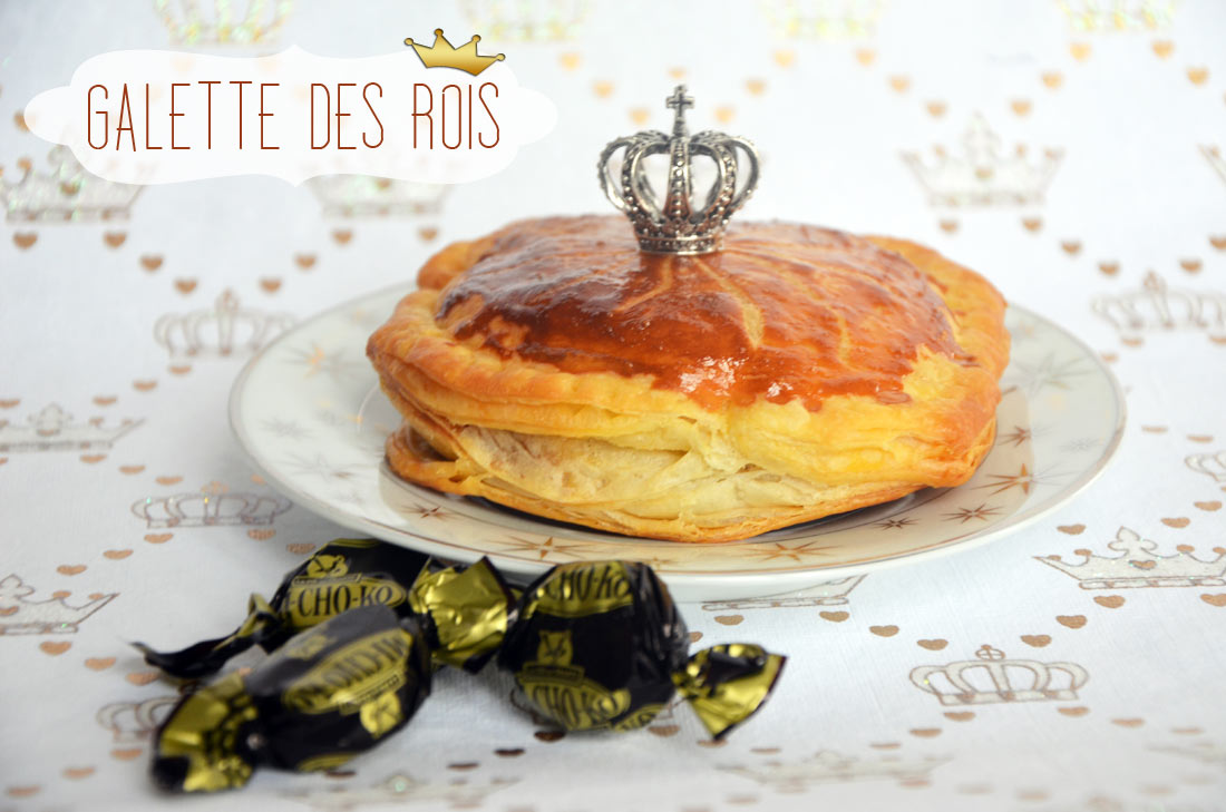 mini galette des Rois au Michoko