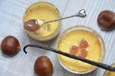 recette de petits pots vanille crème de marrons