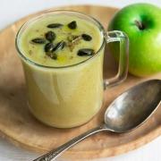 Recette de velouté pommes brocolis