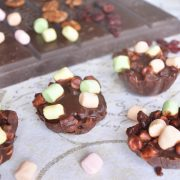 rochers croustillants chocolat marshmallows