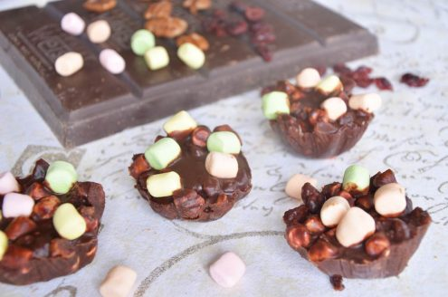 rochers croustillants chocolat marshmallows