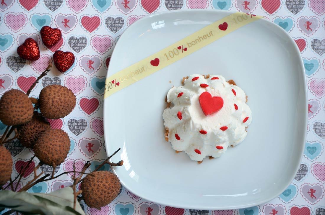recette de dessert facile pour la Saint Valentin