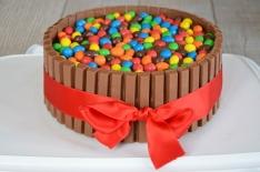 Gâteau d'anniversaire Kit-kat