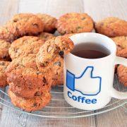 Cookies cannelle avoine raisins noix de pécan