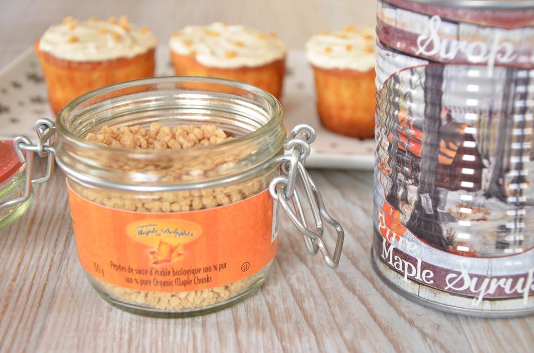délicieuse recette de Cupcakes à l'érable