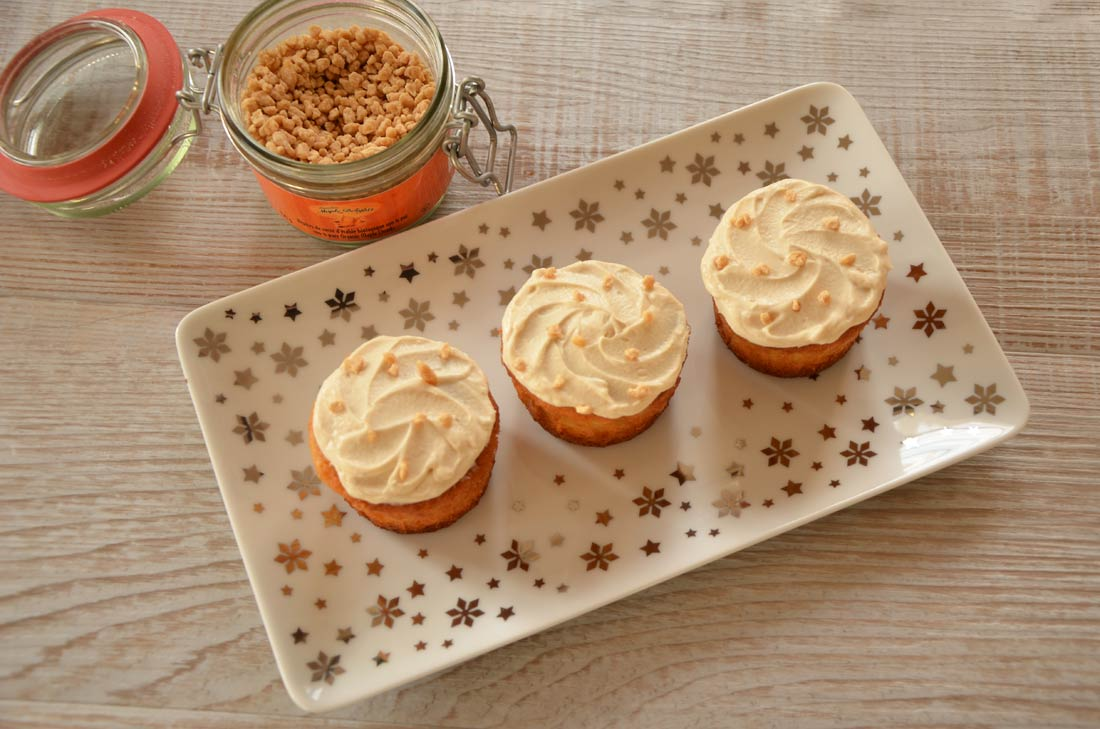 recette de Cupcakes à l'érable