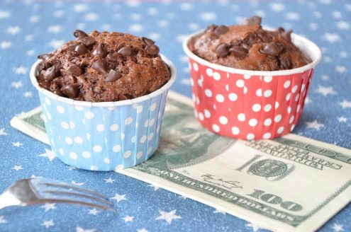 Délicieuse recette de muffins double chocolat