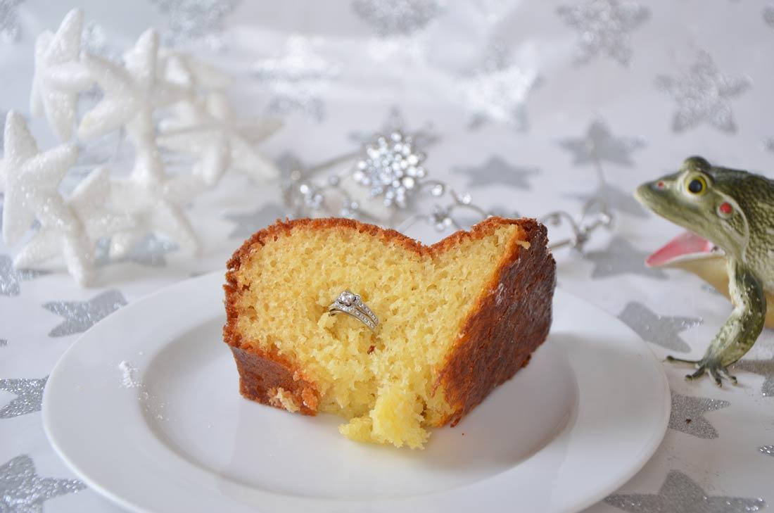 recette du cake d'amour de Peau d'Âne