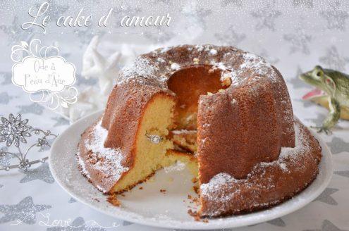 cake d'amour peau d'âne