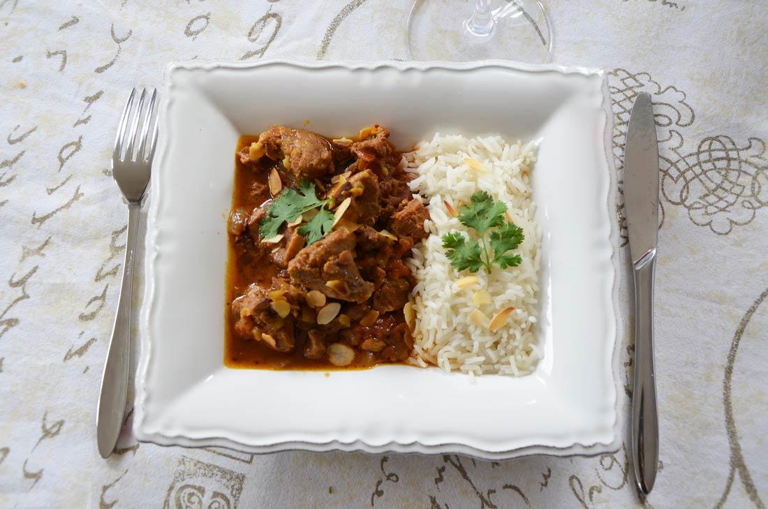 recette de curry d'agneau