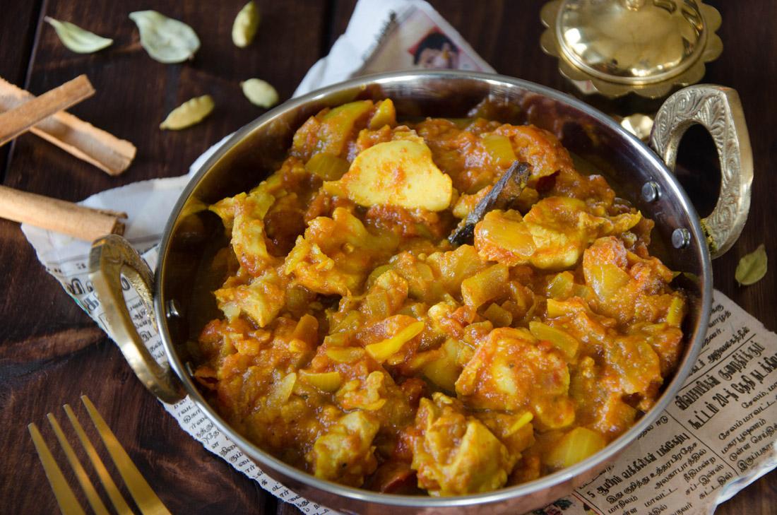 recette de poulet chettinad