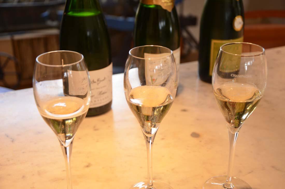 Avec quoi boire champagne