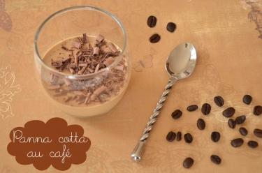 recette de panna cotta au café