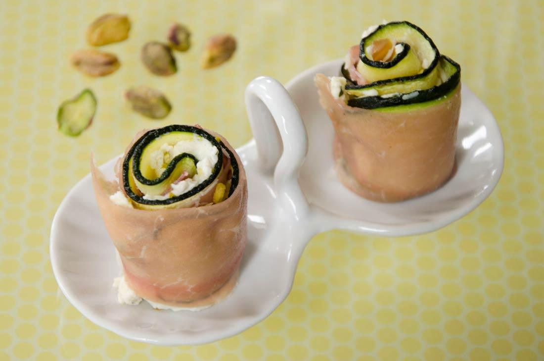 Recette de makis jambon tartare pistaches