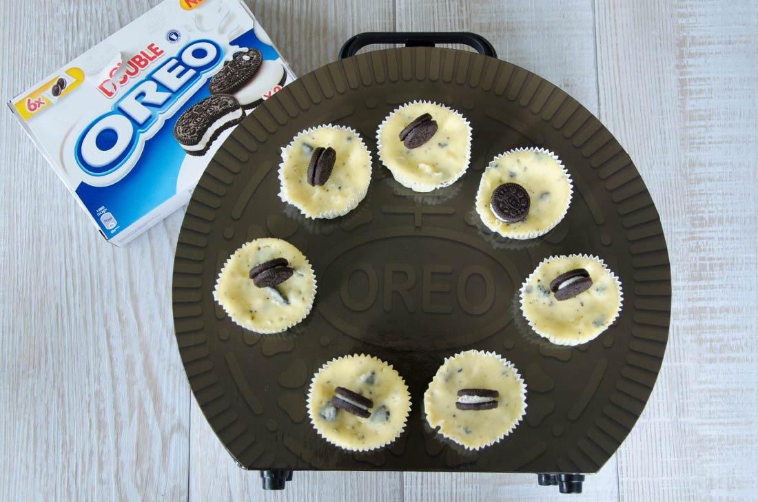 mini cheesecakes aux Oreo