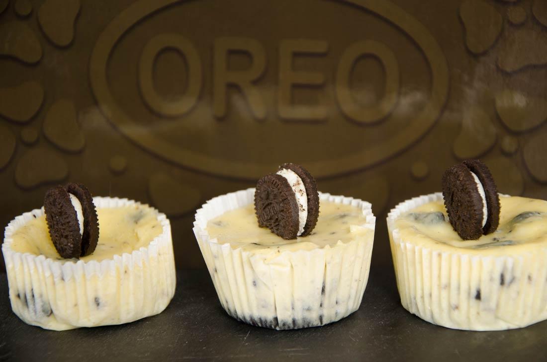 ultime recette de mini cheesecakes aux Oreo de Martha Stewart