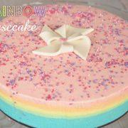 Recette de Rainbow cheesecake