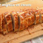 Recette de filet mignon en croute