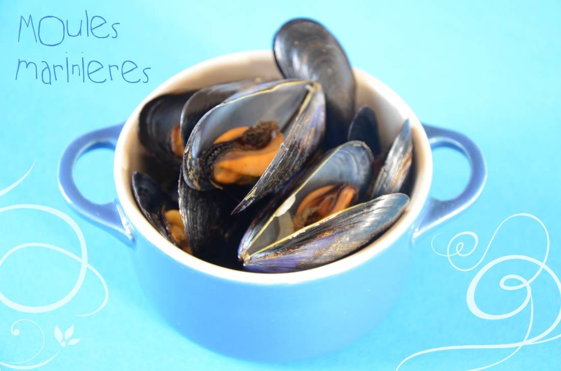 recette facile de Moules marinières