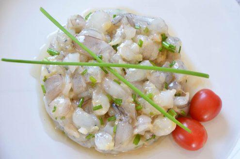Recette de tartare de crevettes au gingembre