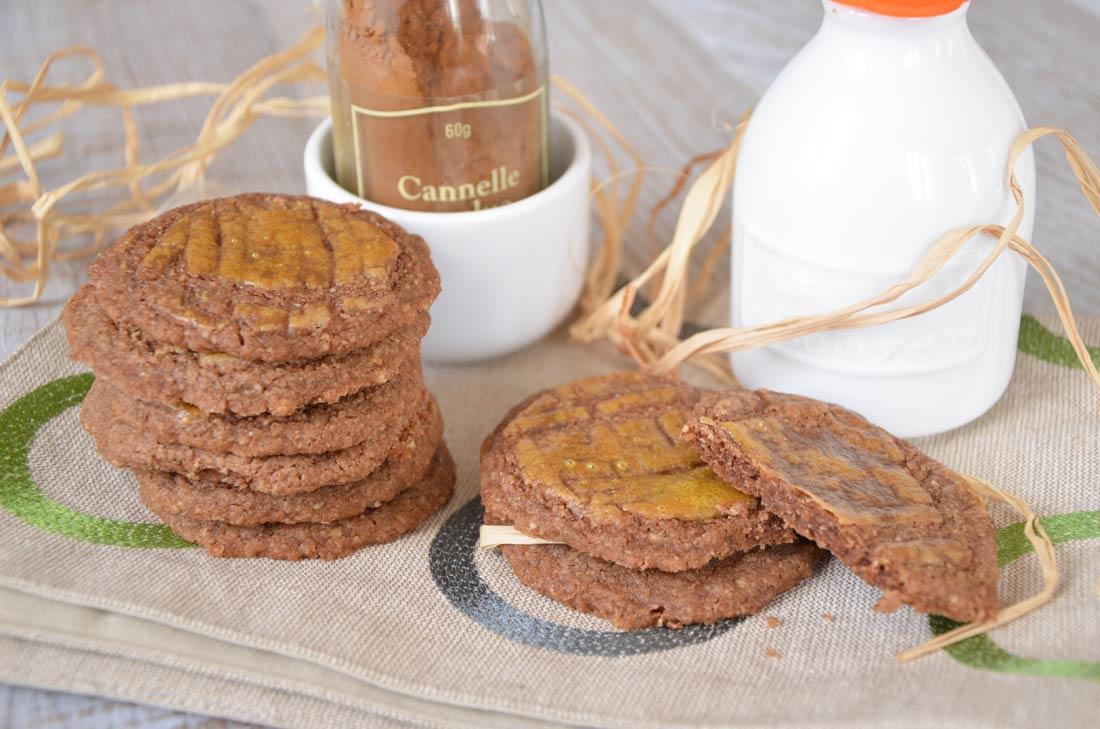 des biscuits à croquer : palets nantais à la cannelle