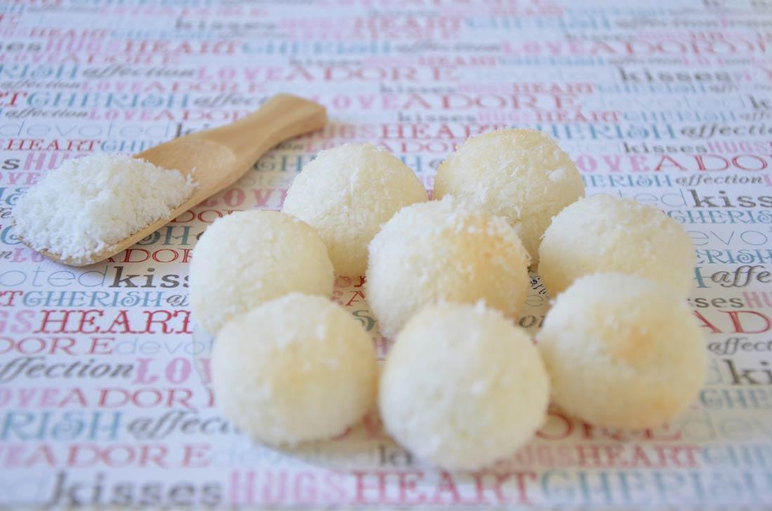 recette de congolais, des mignardises à la noix de coco