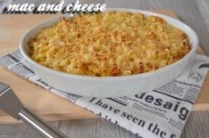 Recette de mac and cheese ou gratin de macaronis