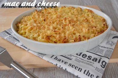 Recette de mac and cheese ou gratin de macaronis