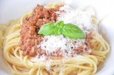 recette rapide de spaghettis bolognaise