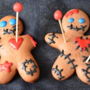 Gingerbread voodoo halloween