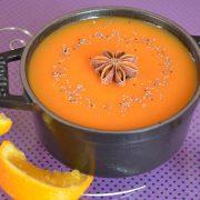 Soupe citrouille orange anis étoilé, une idée de recette pour Halloween