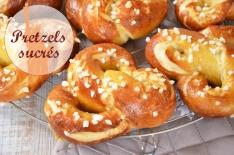 Délicieuse et très facile recette de pretzels