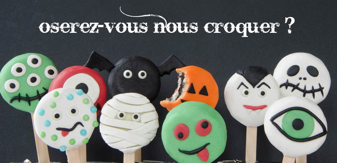 biscuits oreo halloween monsters