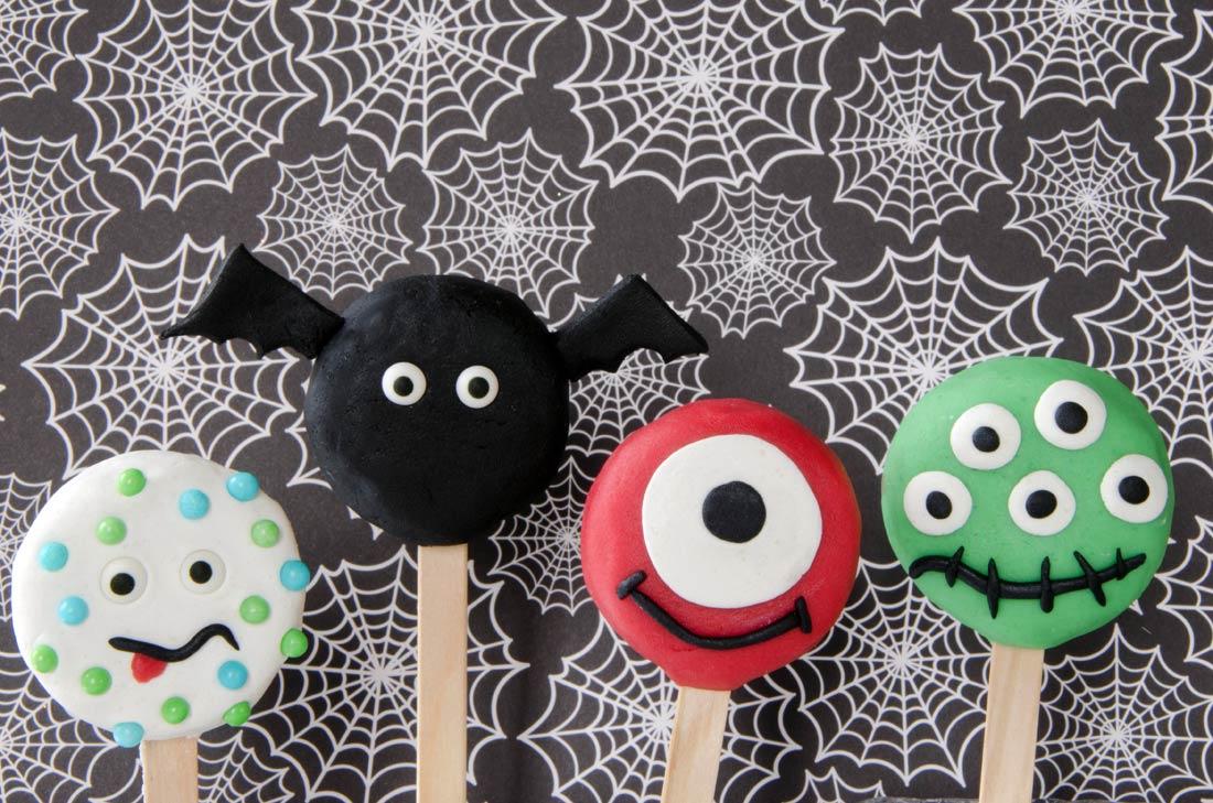 biscuits oreo halloween : recouvert de pâte à sucre, ils vont vous faire peur !